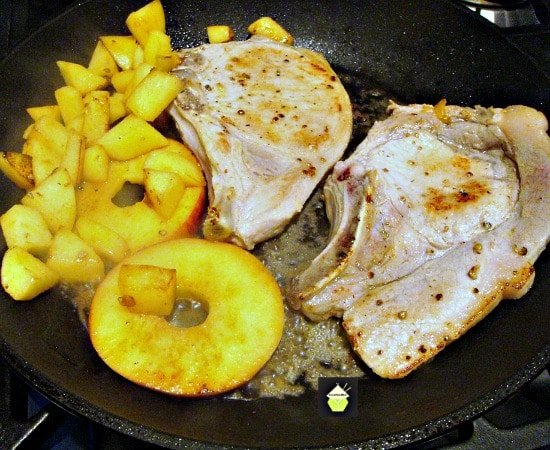 Apple Cider Pork Chops