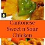 Authentic Cantonese Sweet and Sour Chicken - Come and see how to make it just like in the restaurants! Chinese food at it's best! | Lovefoodies.com
