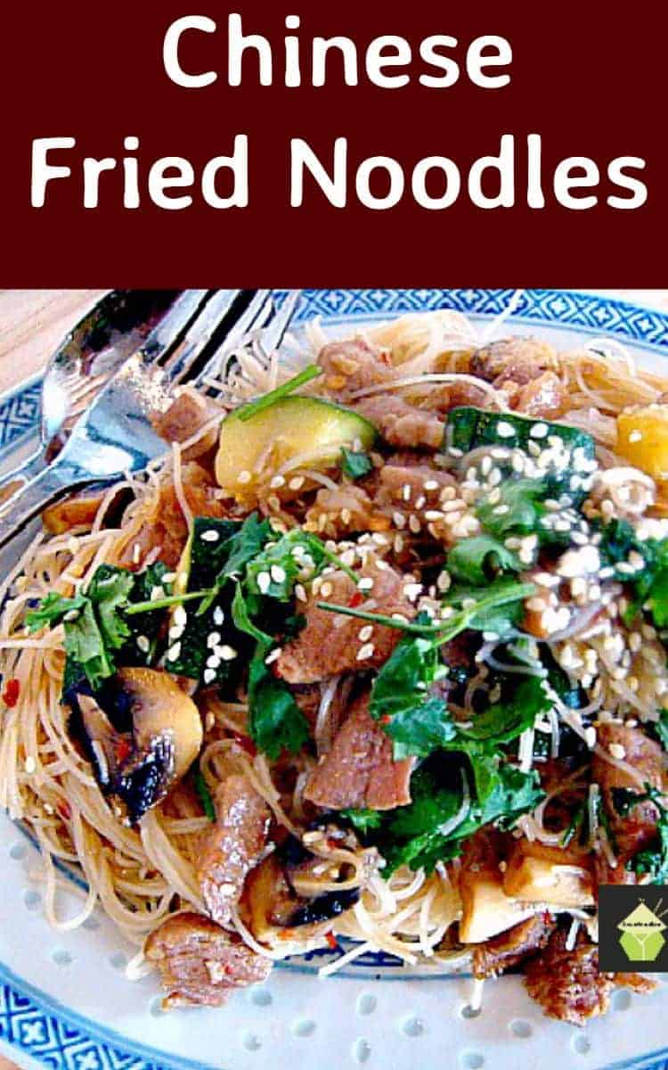 Chinese Fried Noodles. Quick, Easy and great tasting!