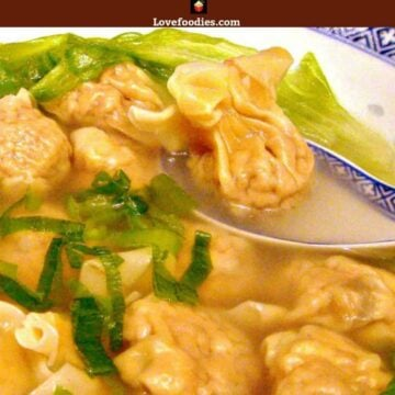 Make your very own Chinese Wonton Soup, better than the restaurants for sure! Easy step by step instructions and great recipe for the filling and delicious broth.