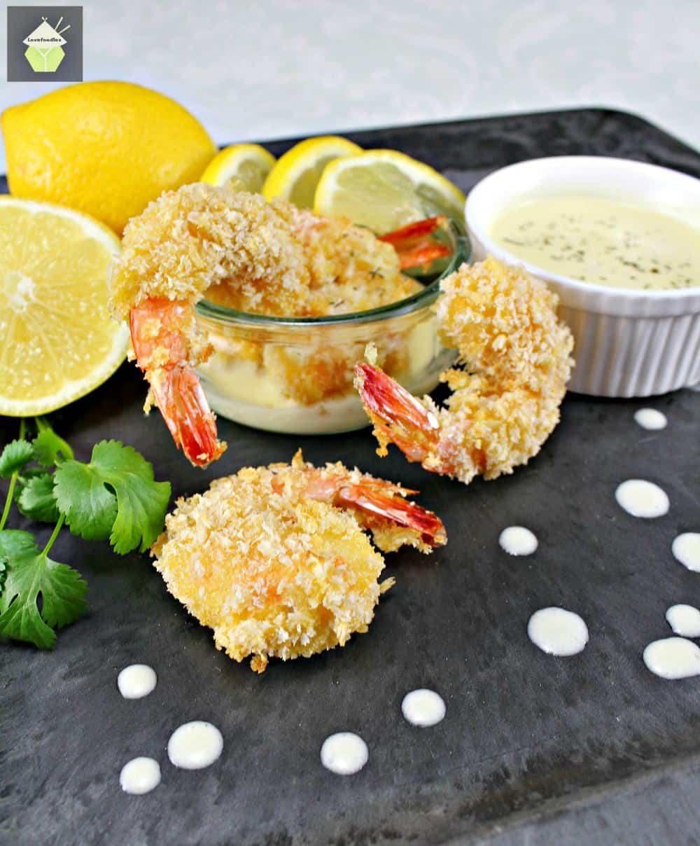 Crispy Breaded Shrimp