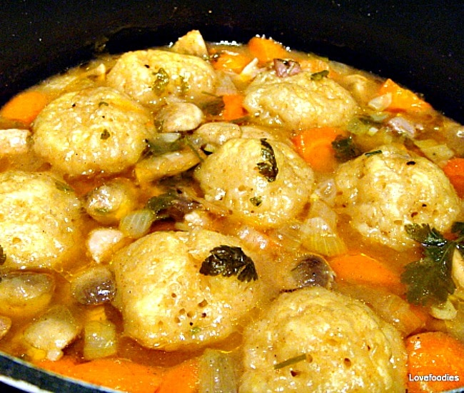 Grandma's Meat and Dumpling Casserole