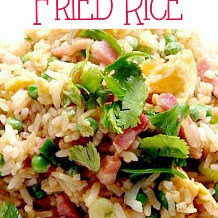 Speedy Ham and Egg Fried Rice