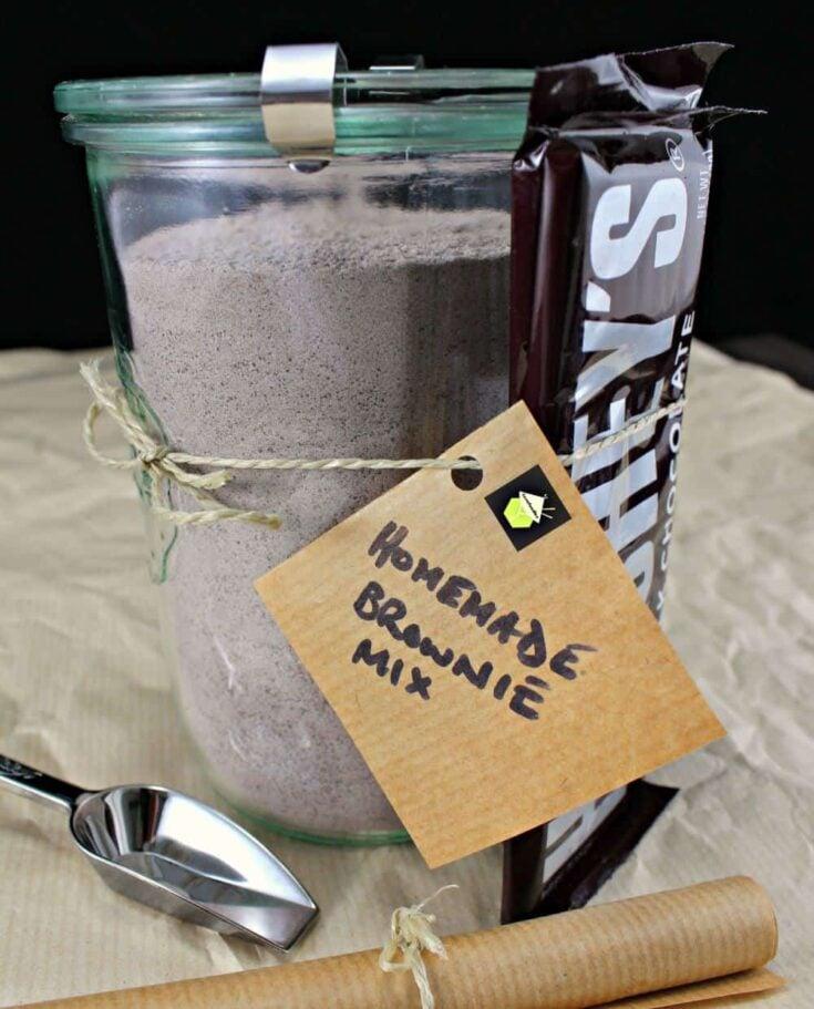 Homemade Brownie Mix PTC