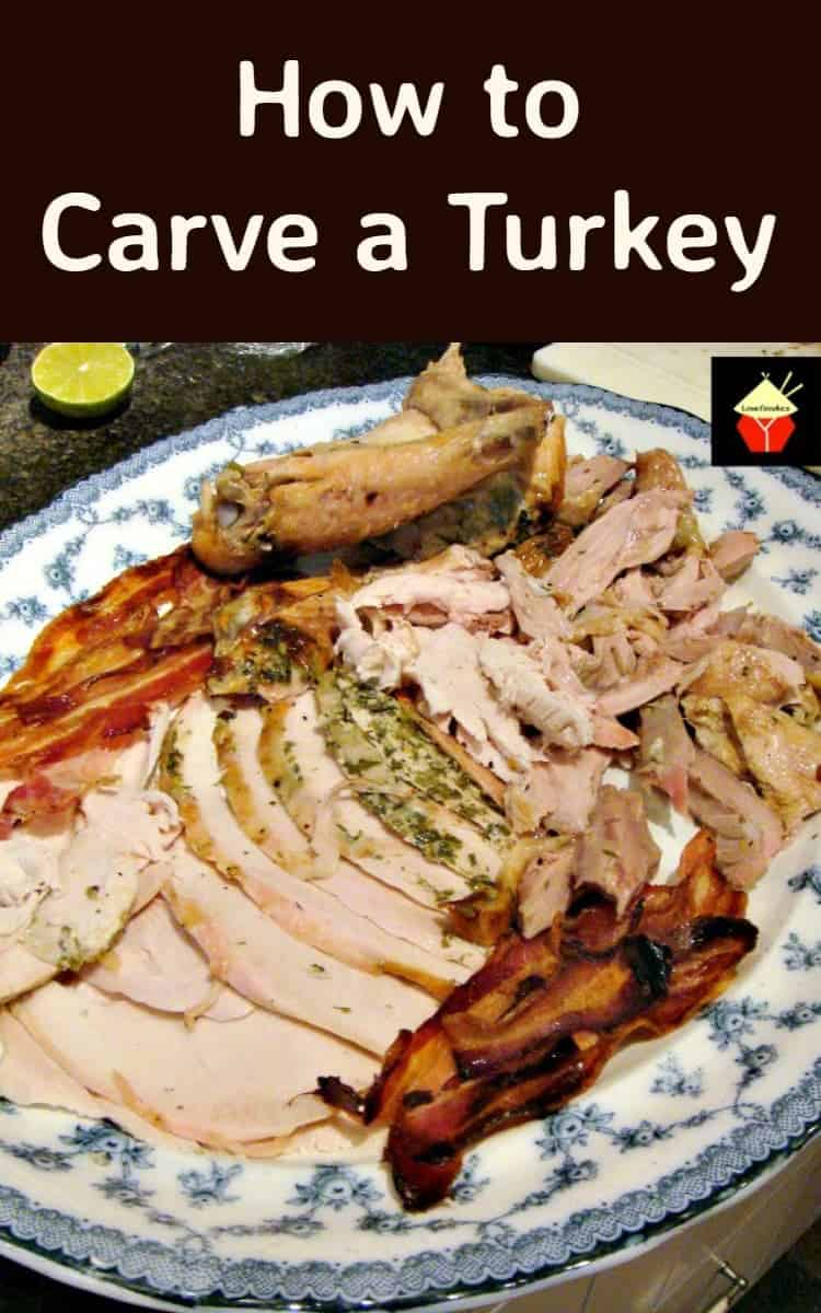 How to Carve a Turkey - Follow the tips and mini tutorial to get great results and impress all your friends and family | Lovefoodies.com