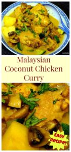 Cheats Malaysian Coconut Chicken & Potato Curry