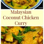 Cheats Malaysian Coconut Chicken & Potato Curry