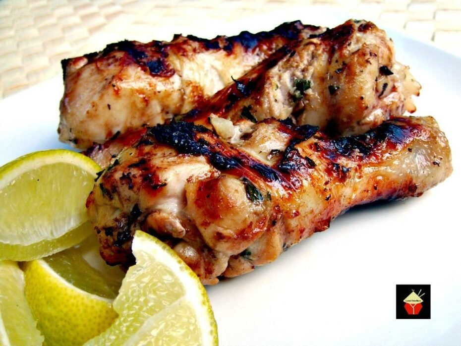 Mint & Lime Yogurt Chicken Refreshing, zesty and great tasting! Grill or oven, you choose. | Lovefoodies.com