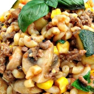 Easy Hamburger Goulash