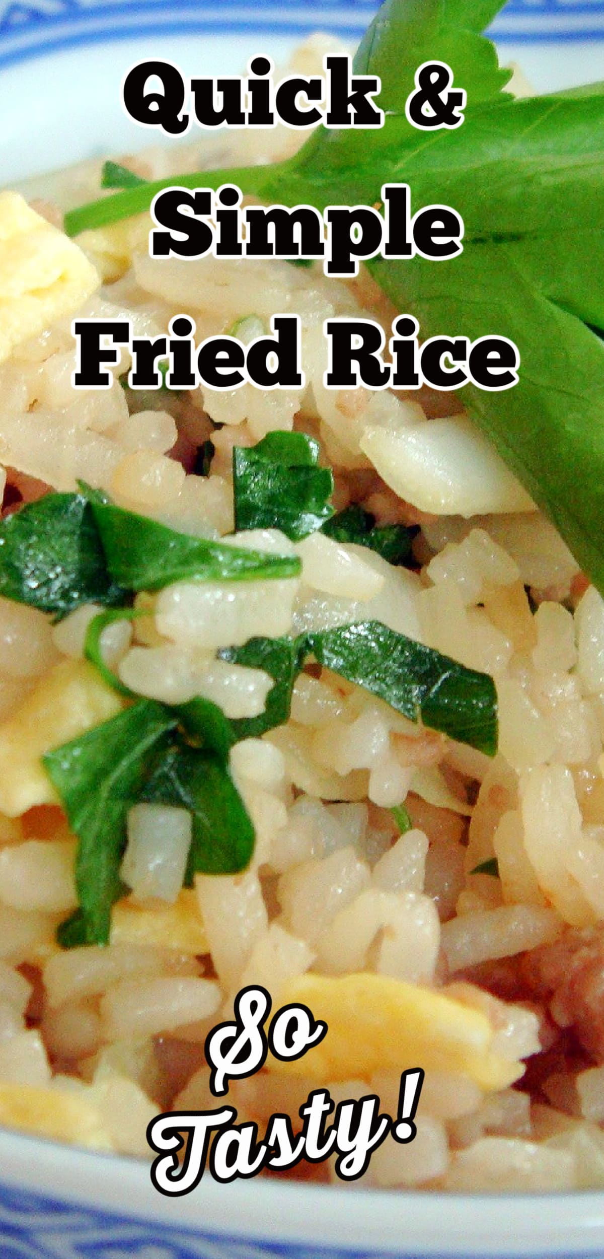 Quick and Simple Fried Rice. A very easy recipe using inexpensive ingredients to give you an authentic flavor of fried rice. Serve as a main or side dish.