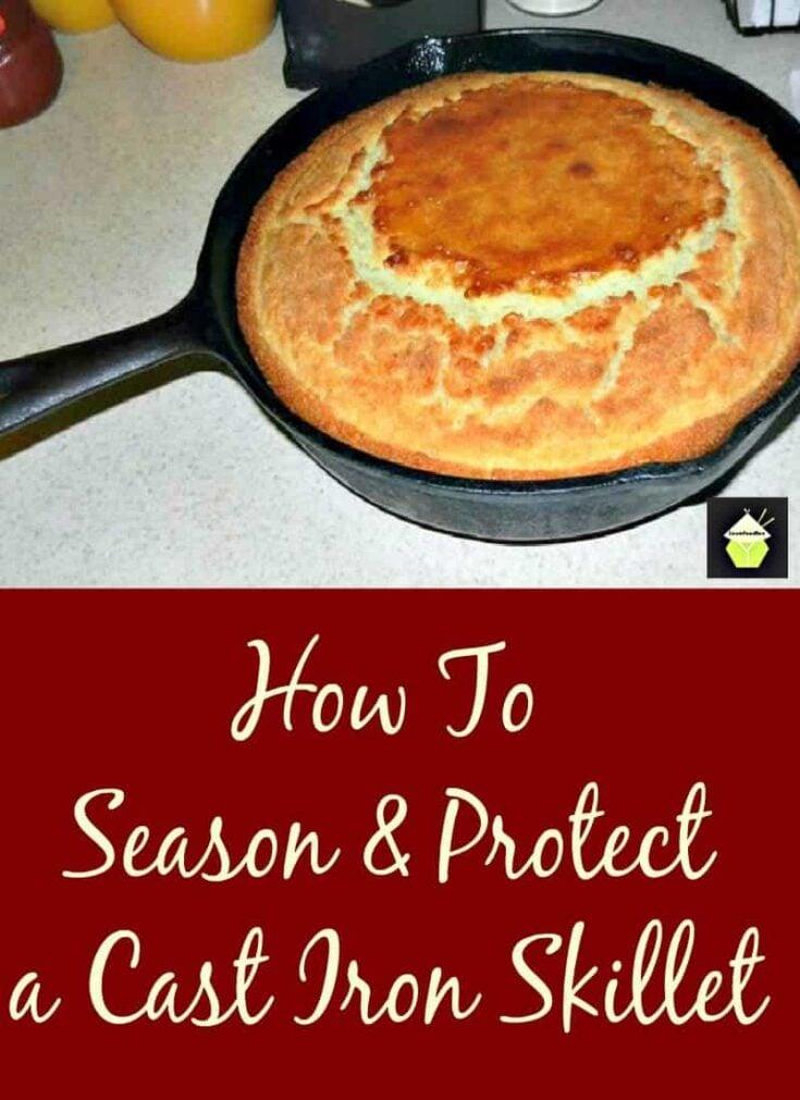 Season and Protect Skillet PTL