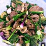 Beef, Broccoli and Ginger Stir Fry is a delicious quick and easy dinner with the flavors of South East Asia