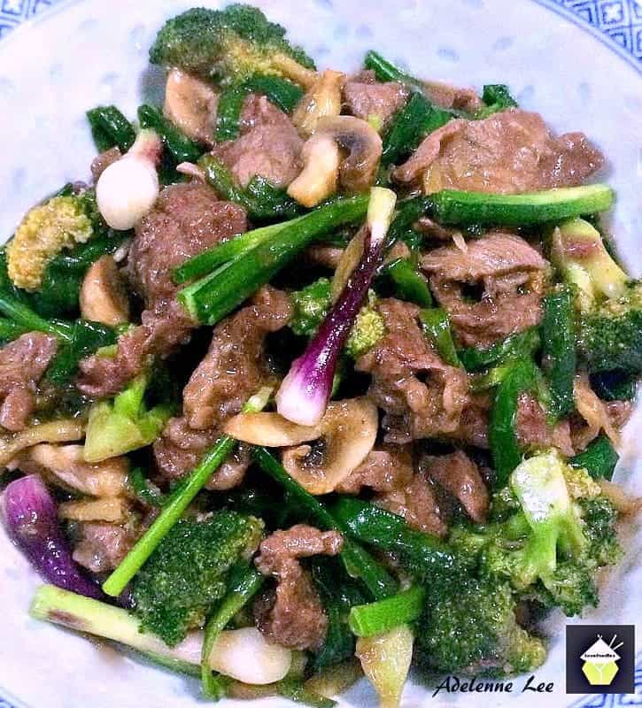Beef, Broccoli and Ginger Stir Fry