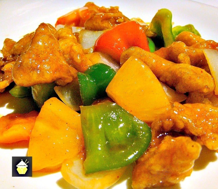 Authentic Cantonese Sweet and Sour Chicken - Come and see how to make it just like in the restaurants!
