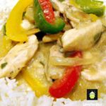 Chicken in Cream Sauce - A wonderful creamy, easy chicken dinner with flavors out of this world! | Lovefoodies.com