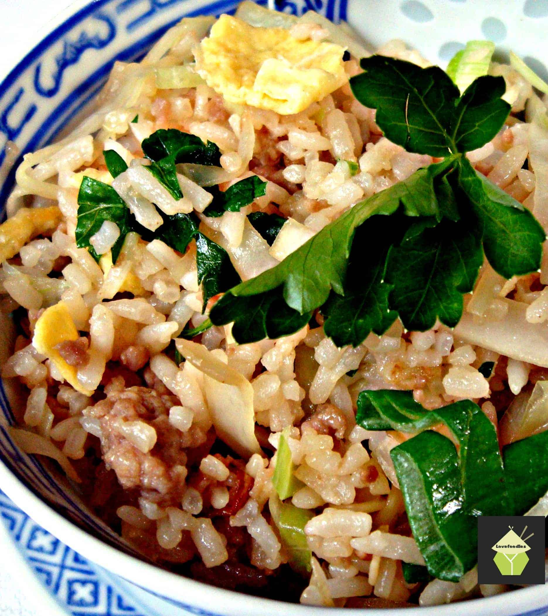Quick and Simple Fried Rice, flexible ingredients and great tasting!