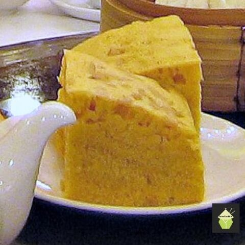 Ma Lai Go Chinese Steamed Dim Sum Cake. This is a lovely moist steamed cake, fluffy as a feather and uses very regular ingredients. Easy recipe with step by step instructions.
