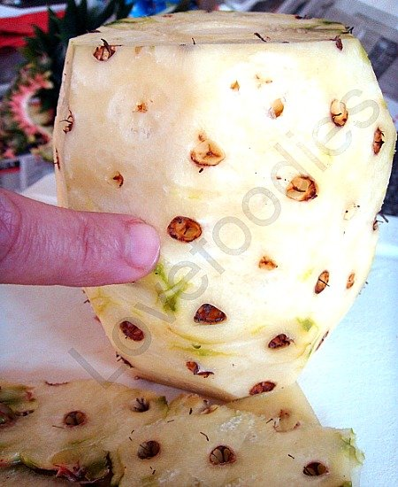 How to Prepare a Pineapple With Minimum Waste