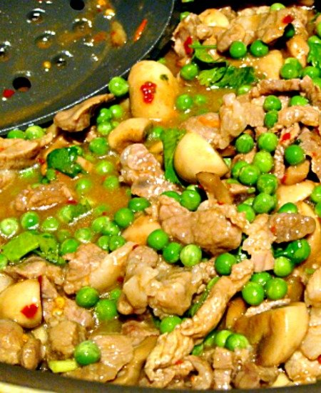 Quick Pork and Mushroom Stir Fry