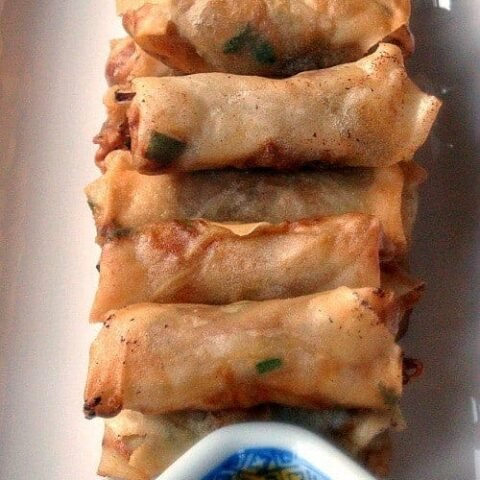 Chinese Spring Rolls - Great authentic taste and easy to follow instructions