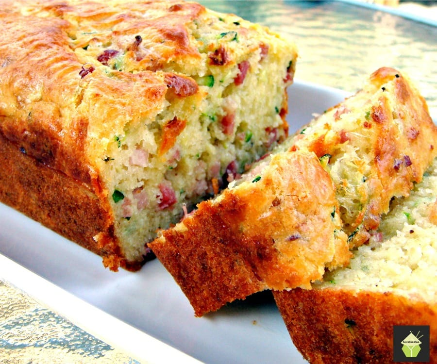 Hams Egg Cheesy Bread Roll: Bacon, Cheddar Zucchini Bread. A Wonderful Light And