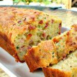 Bacon and Cheddar Zucchini Bread