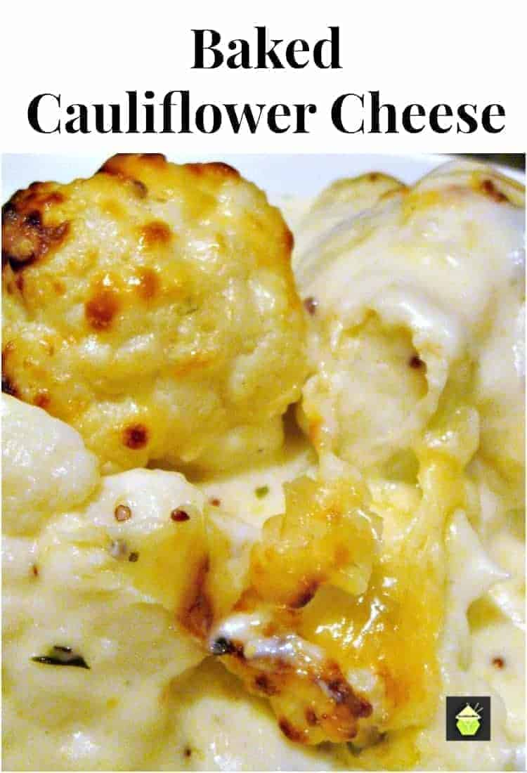 Cauliflower Cheese! Also good if you need to make ahead. Simply put it in the oven when you're ready! Please enjoy