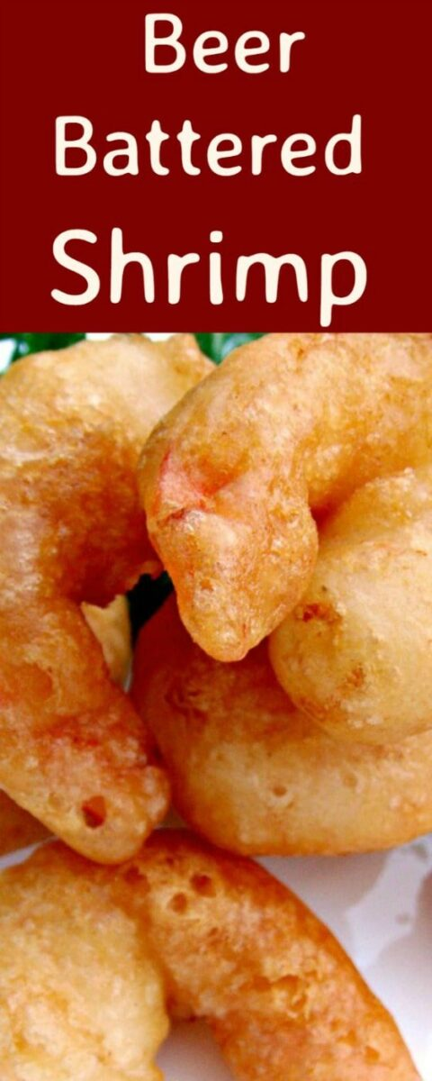 Crispy Beer Battered Shrimp. Oh boy.. these are delicious!