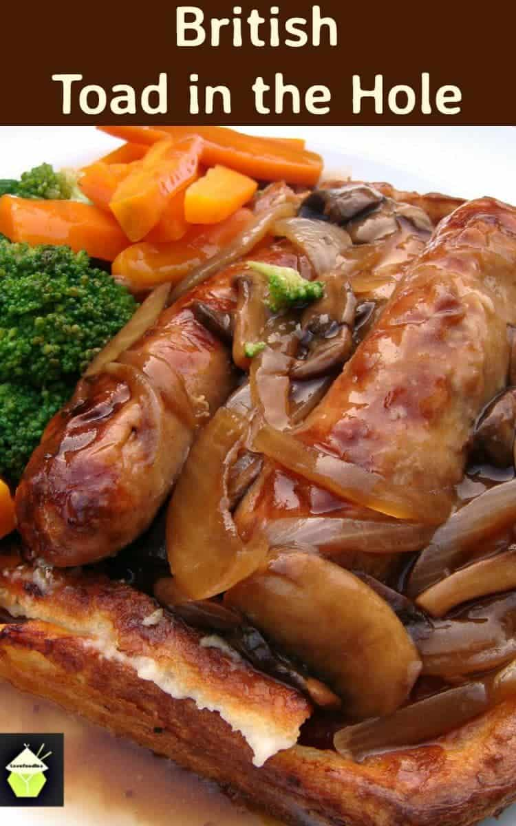 British toad in the hole its a delicious easy dinner with british toad in the hole its a delicious easy dinner with sausages baked in forumfinder Choice Image