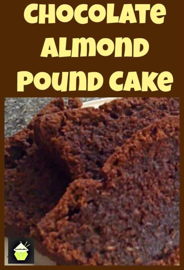 Chocolate Almond Pound Cake