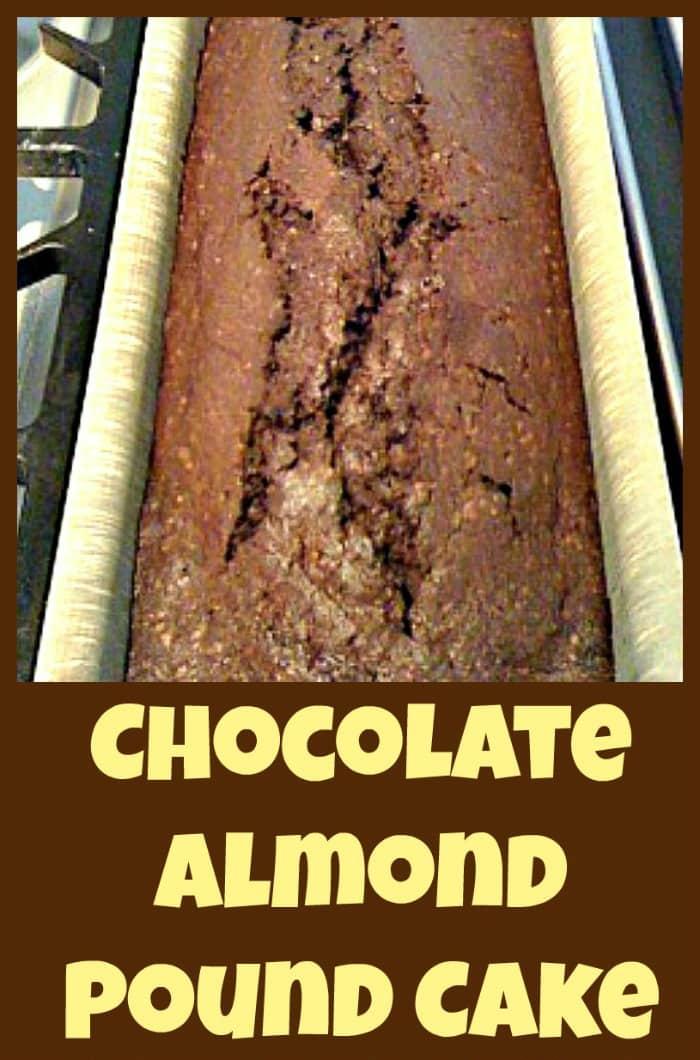 Chocolate Almond Pound Cake Lovefoodies