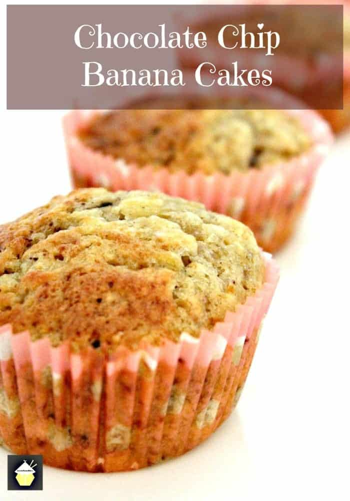 Chocolate chip banana muffins are easy to make, soft, and fluffy in texture. Ideal for breakfast or a snack. Basic pantry ingredients and simple recipe