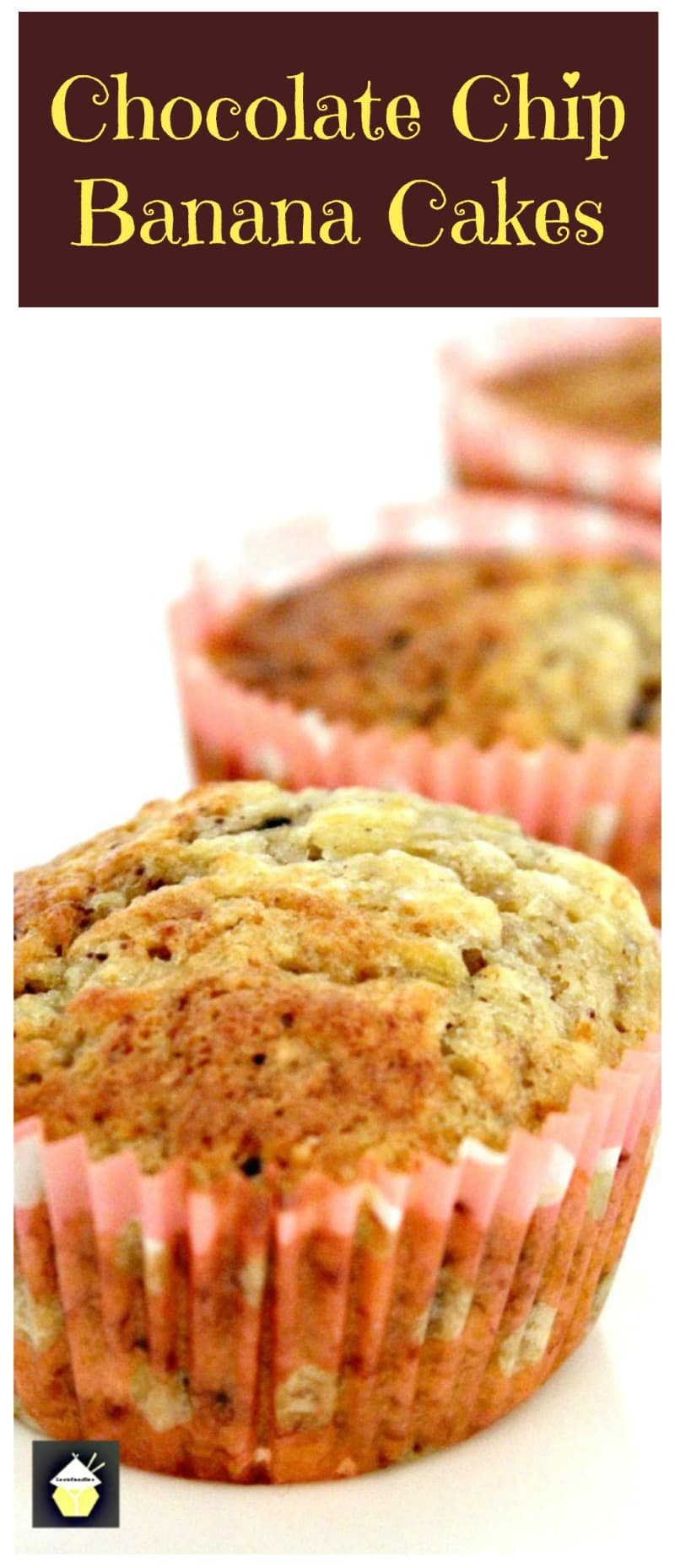 Chocolate Chip & Banana Cakes. A very easy and so delicious recipe. A sure 'keeper'!