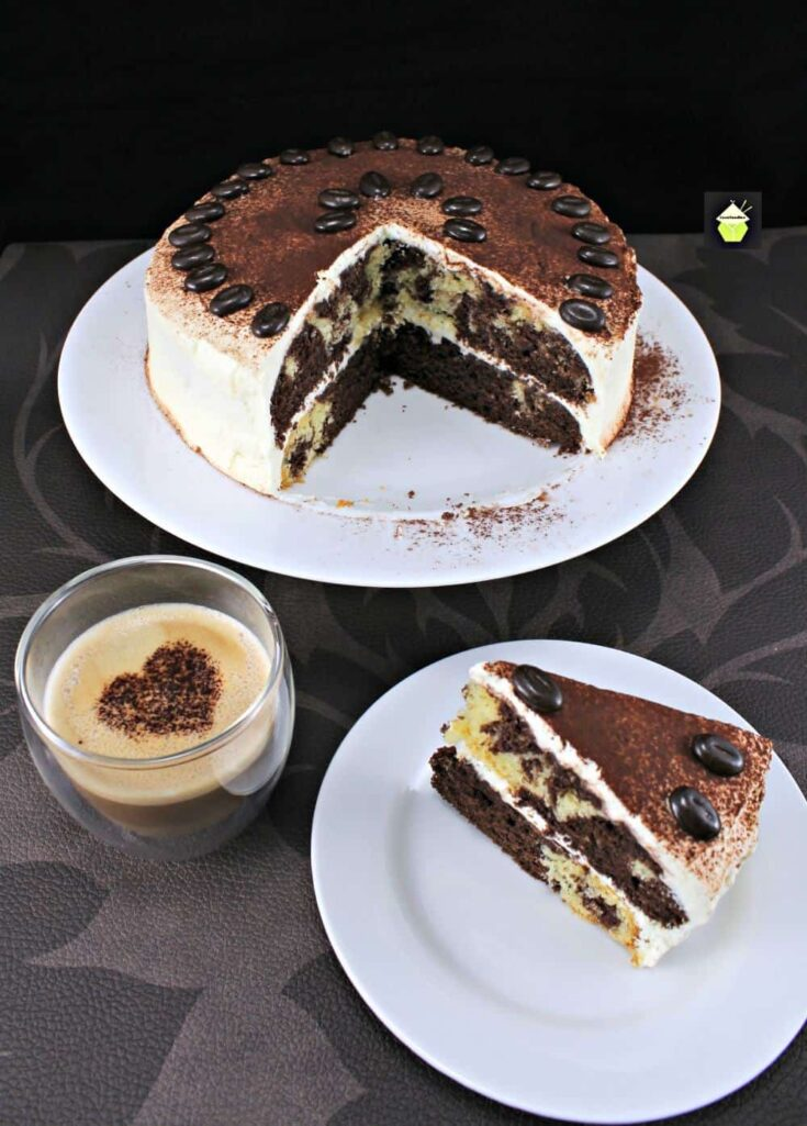 Chocolate Latte Cake PTL