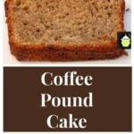The BEST Classic coffee cake recipe, rich coffee flavor, delicious, perfect for afternoon tea or after dinner with coffee. Easy, coffee flavored loaf