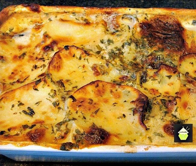 Creamy Dauphinoise Layered Potatoes
