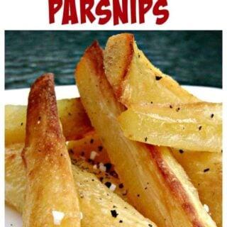 Super Crispy Crunchy Roast Parsnips