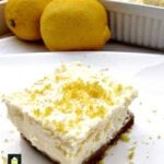 Crockpot Lemon Cheesecake