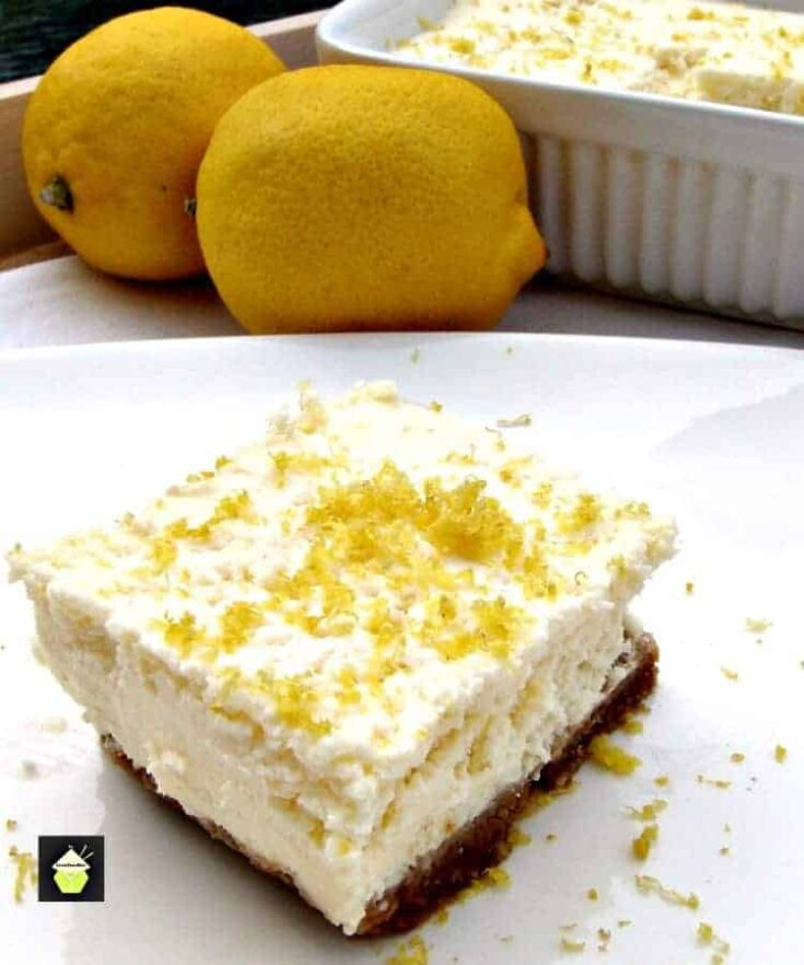 Crockpot Lemon Cheesecake 3