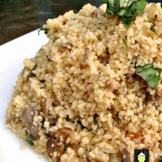 Cous Cous can be pretty boring on it's own, but I jazzed it up and now you can eat it and enjoy the flavours!
