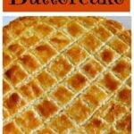 Dutch Buttercake (Boterkoek)