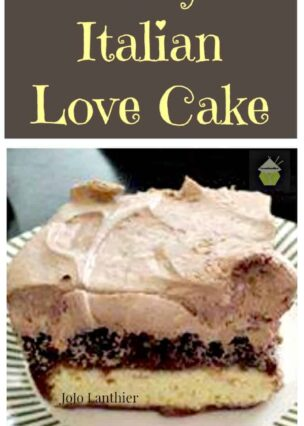 Easy Italian Love Cake. This is incredibly easy to make and tastes so good! | Lovefoodies.com
