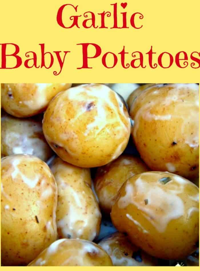 Garlic Baby Potatoes