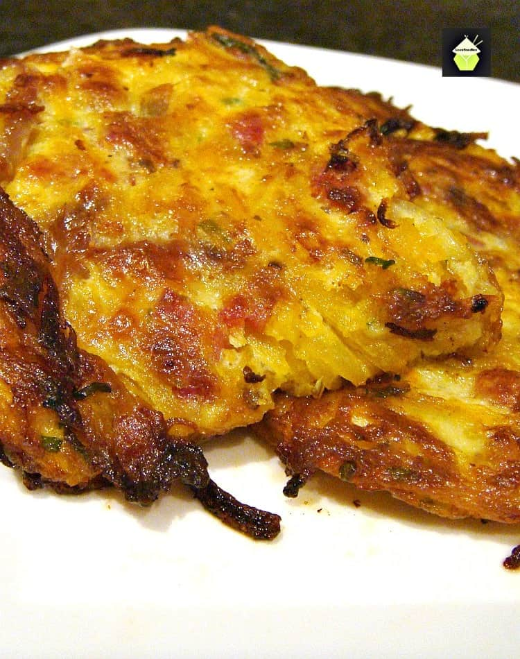 Garlic and Bacon Butternut Patties