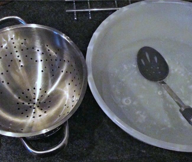 Homemade Garlic and Herb Spaetzle