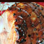 Honey Glazed Ham. Super easy recipe and guaranteed to be packed full of flavour and very moist. Perfect served warm or cold, or both! | Lovefoodies.com