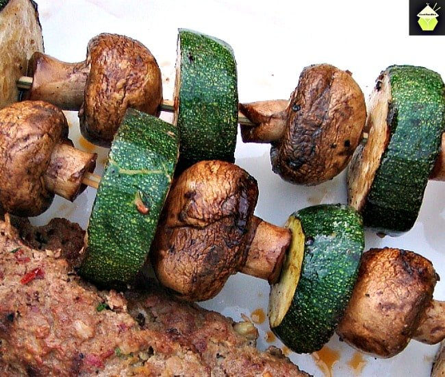 Kebabs With Attitude! These are a spicy, moist kebab, full of flavor and perfect for grilling! | Lovefoodies.com