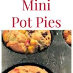 Mini Pot Pies with lots of filling suggestions, such as chicken, beefburger, bacon and crab. There's also a homemade Bisquick Mix recipe! ...come and choose which pies you would like to make!