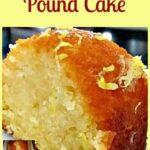Moist Lemon or Orange Pound / Loaf Cake. Loaf or bundt pan, you choose!