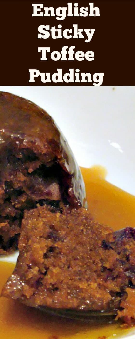 Perfect English Sticky Toffee Pudding. Heavenly! A delicious cake dessert served with a dreamy toffee sauce. It's a keeper! | Lovefoodies.com